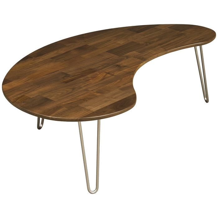 Copeland Furniture Essentials Kidney Shaped Coffee Table