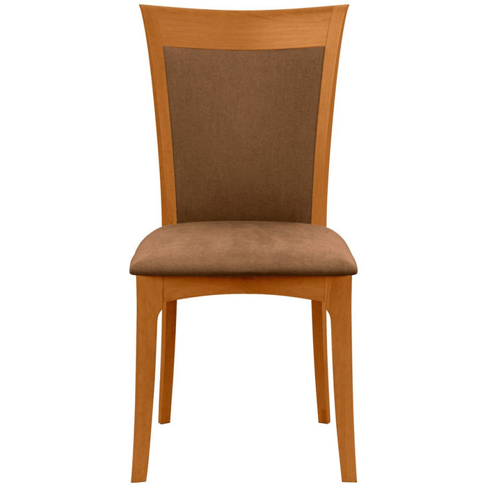Copeland Furniture Morgan Sidechair with Microsuede Seat