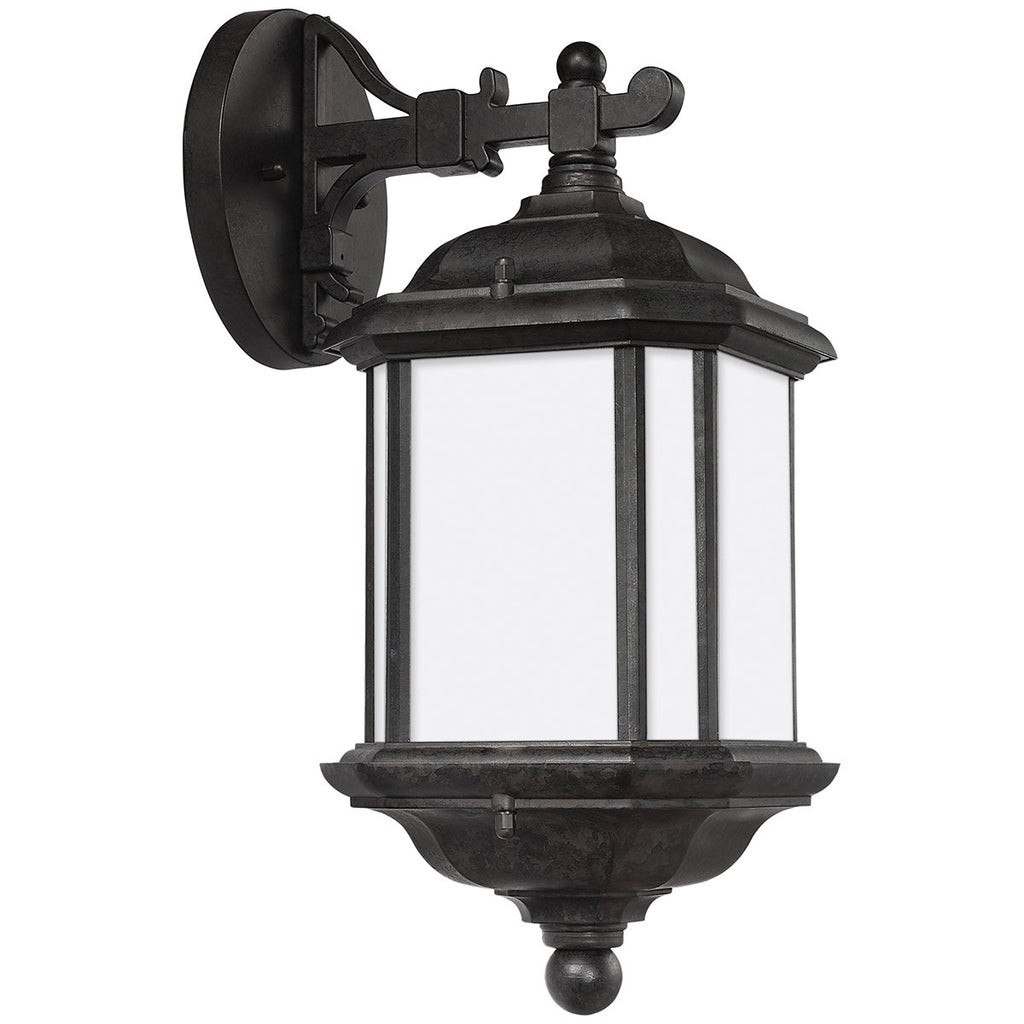 Sea Gull Lighting Kent Traditional One Light Outdoor Wall Lantern