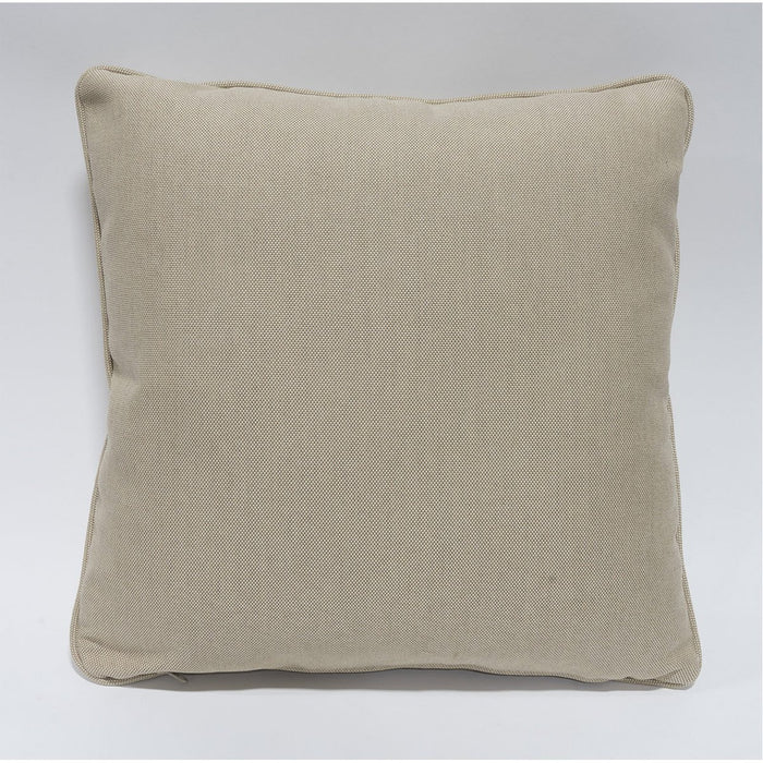 "Palecek 20"" Square Outdoor Pillow with Welt"