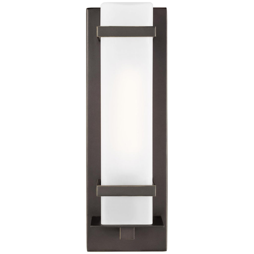 Sea Gull Lighting Alban 1-Light Outdoor Wall Lantern - 60W