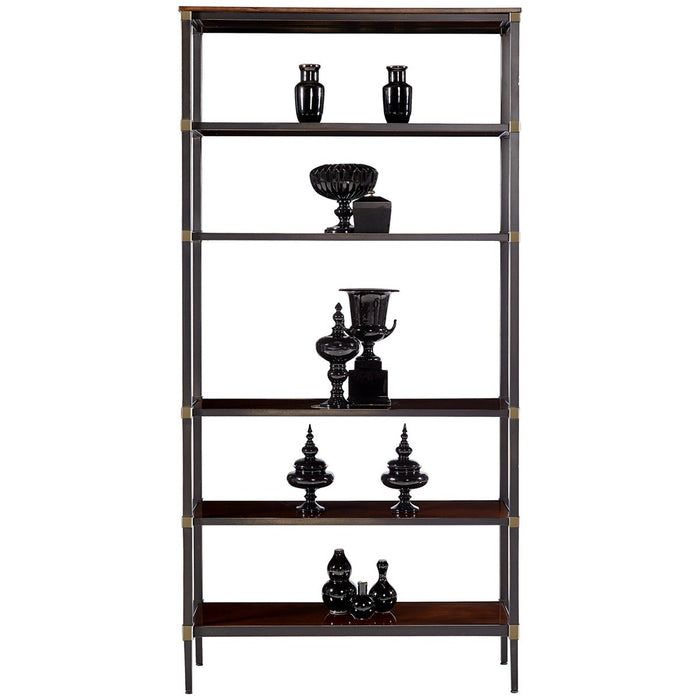 Hickory White Cannes Etagere