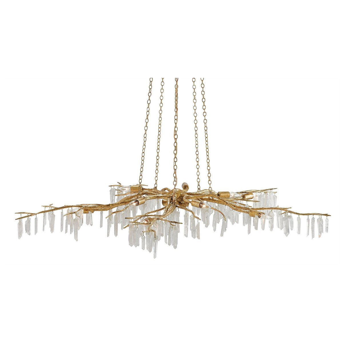 Currey and Company Forest Light Chandelier