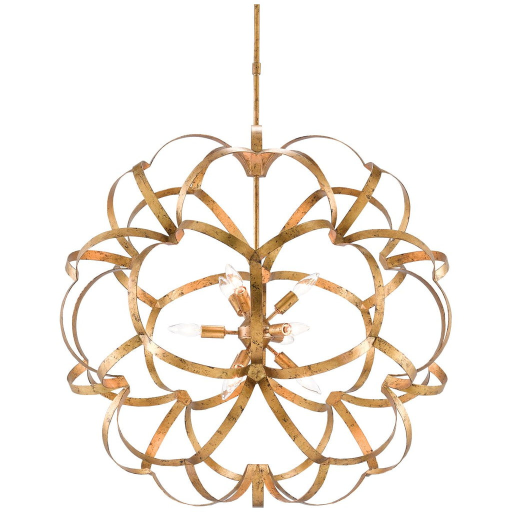Currey and Company Sappho Orb Chandelier