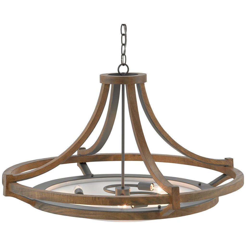 Currey and Company Highwood Chandelier