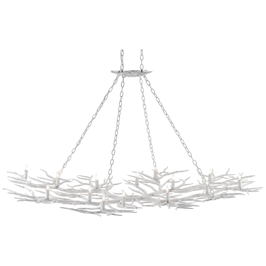 Currey and Company Rainforest Chandelier