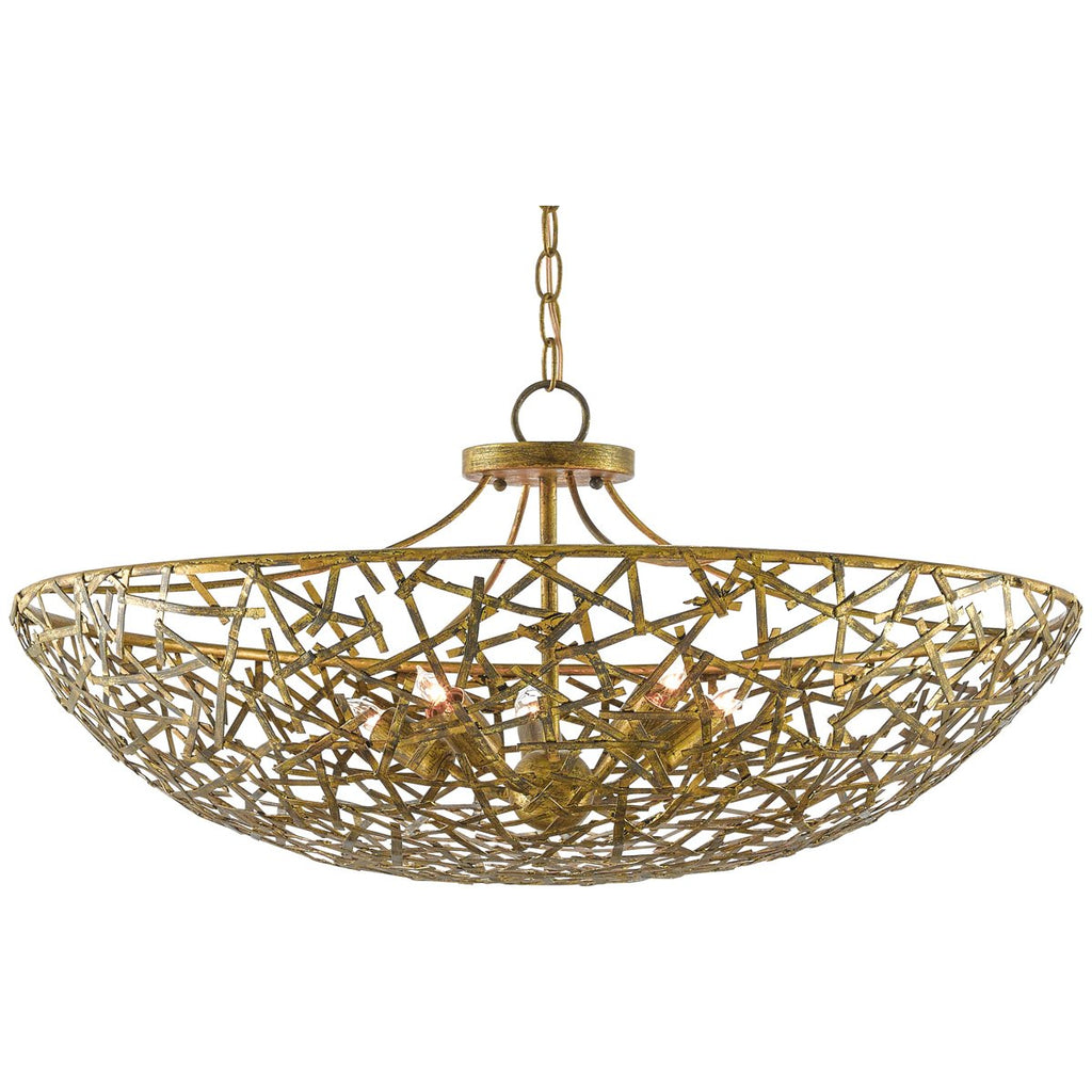 Currey and Company Confetti Bowl Chandelier