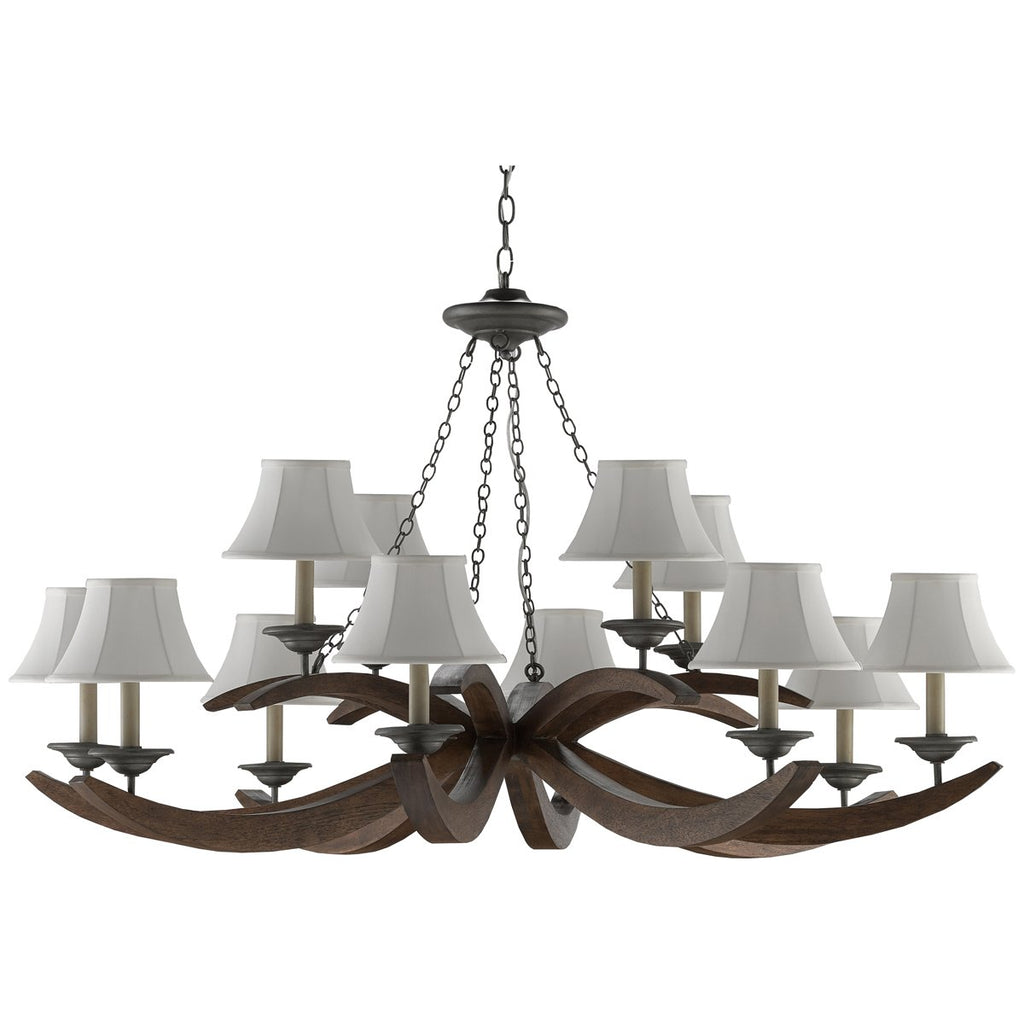 Currey and Company Whitlow Chandelier