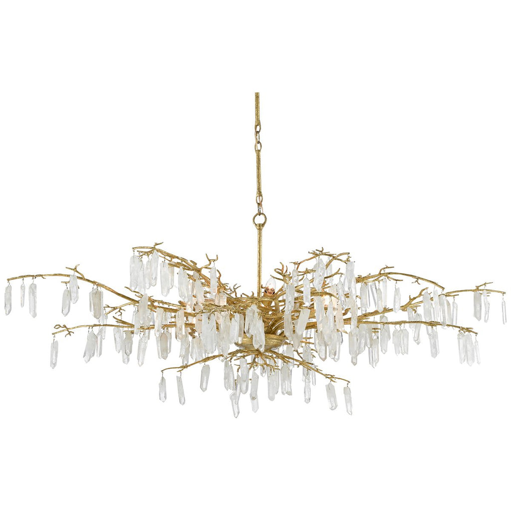 Currey and Company Forest Dawn Chandelier
