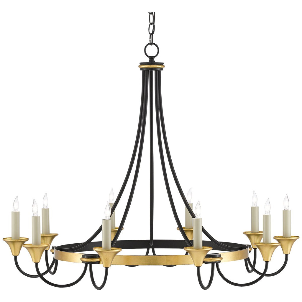 Currey and Company Hanlon Chandelier