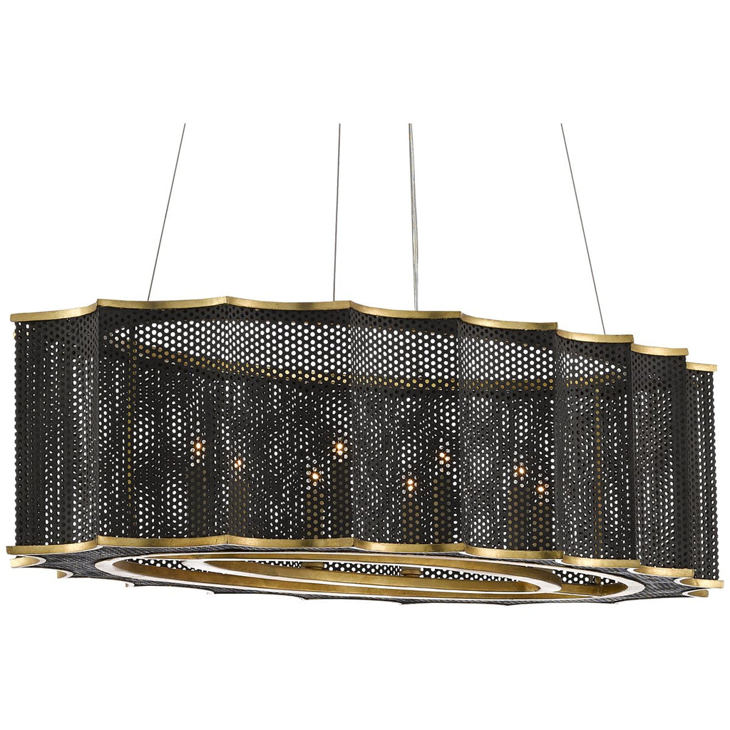 Currey and Company Nightwood Chandelier