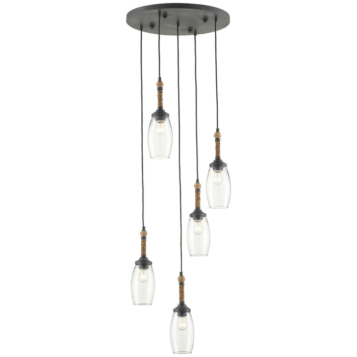 Currey and Company Hightider Multi-Pendant