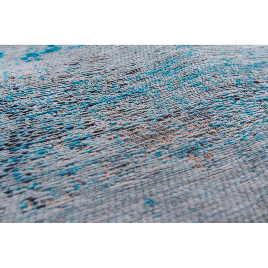 Louis de Poortere Fading World Medaillon 8255 Grey Turquoise Rug