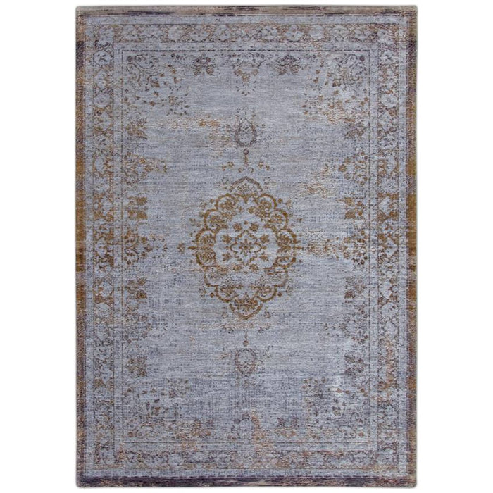 Louis de Poortere Fading World Medaillon 8257 Grey Ebony Rug
