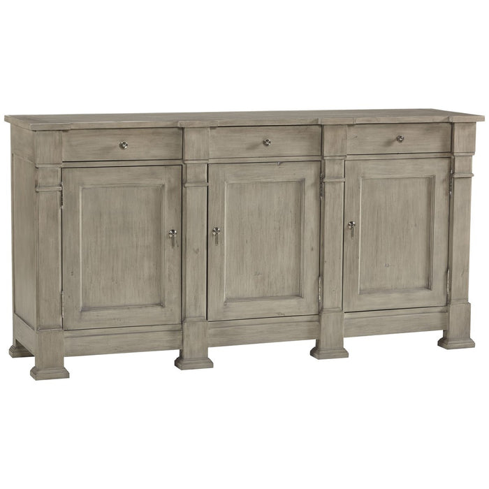 Hickory White Sullivan Grey Breeze Buffet