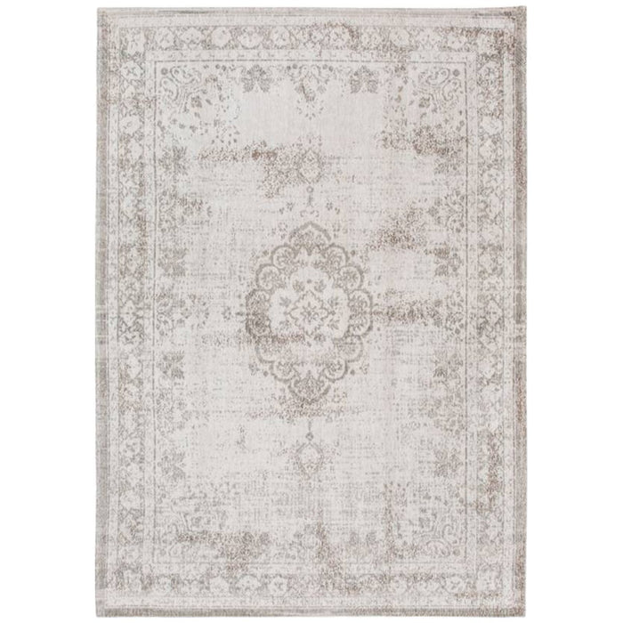 Louis de Poortere Fading World Medaillon 8383 Salt & Pepper Rug