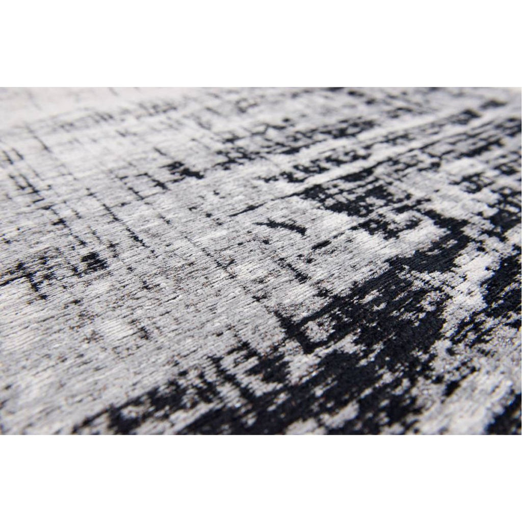 Louis de Poortere Mad Men Griff 8926 Metro Black & White Rug