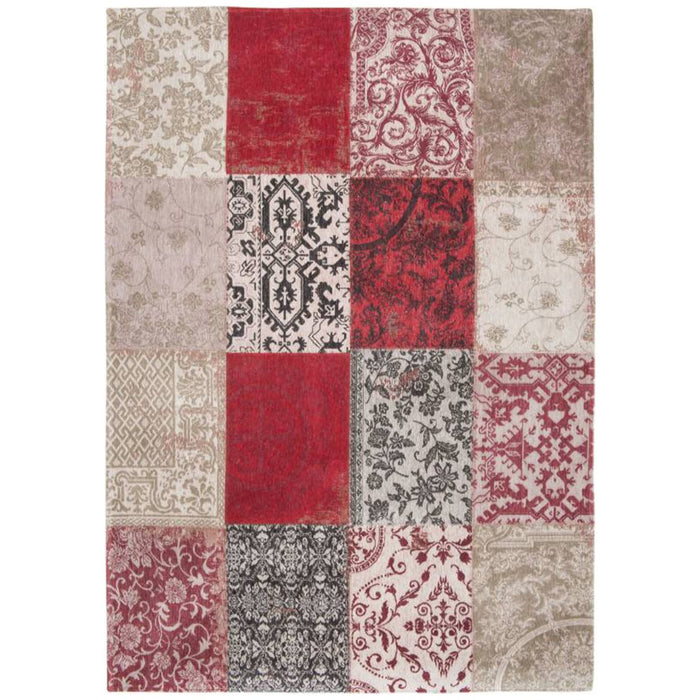 Louis de Poortere Vintage Multi 8985 Antwerp Red Rug