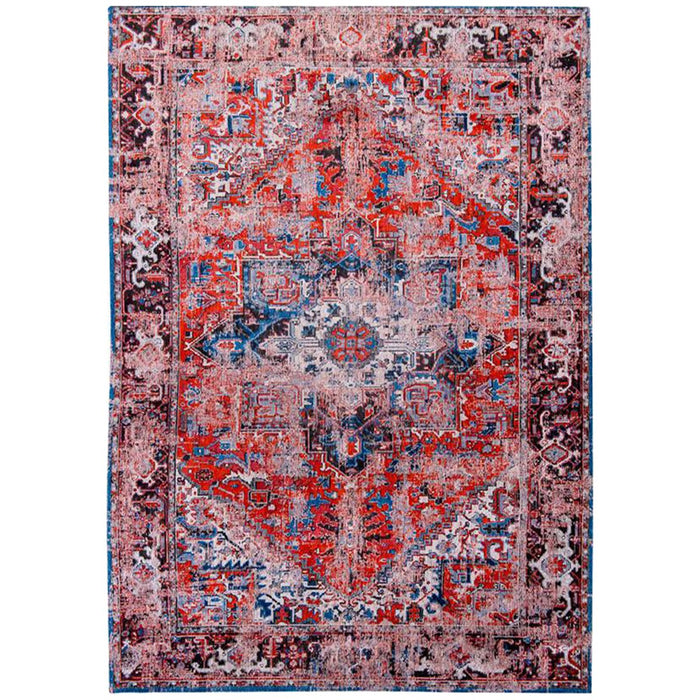Louis de Poortere Antiquarian Heriz Antique 8703 Classic Brick Rug