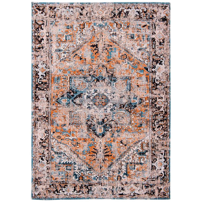 Louis de Poortere Antiquarian Heriz Antique 8705 Seray Orange Rug
