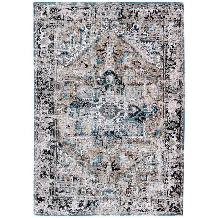 Louis de Poortere Antiquarian Heriz Antique 8708 Golden Horn Beige Rug