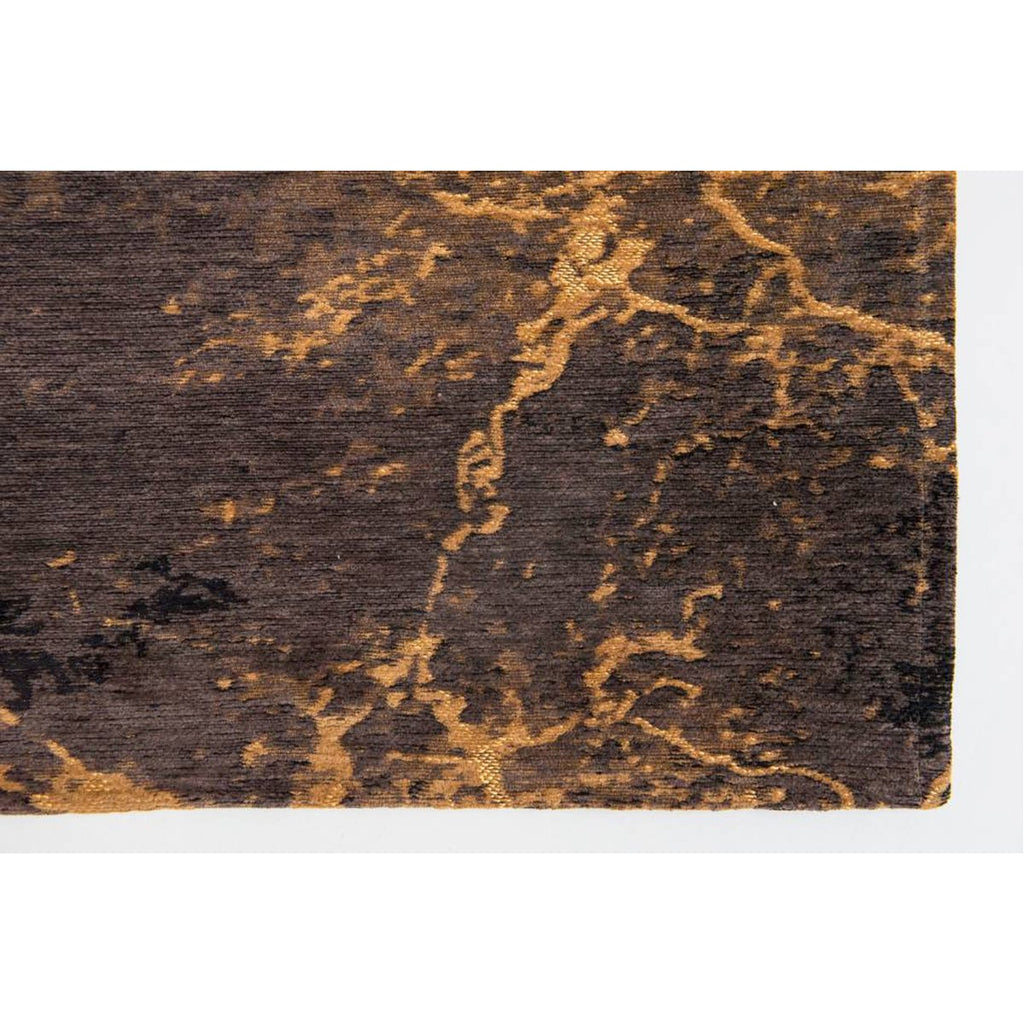 Louis de Poortere Mad Men Cracks 8618 Deep Mine Rug
