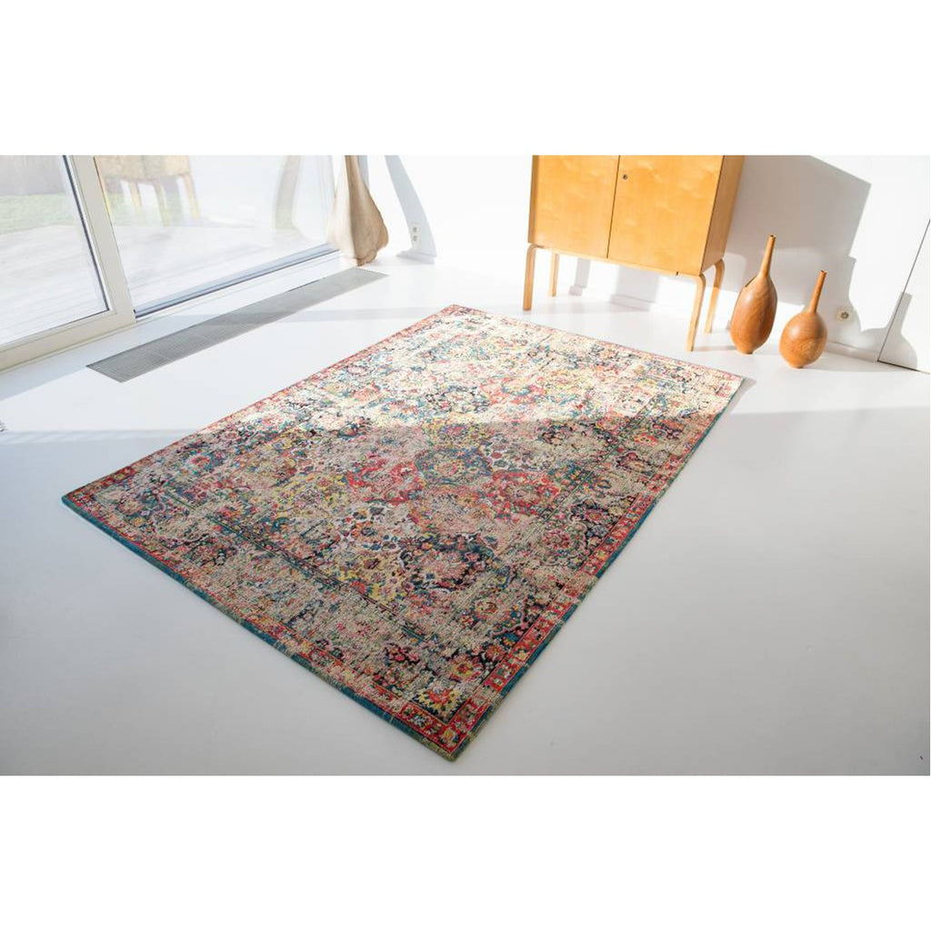 Louis de Poortere Antiquarian Bakhtiara Antique 8712 Janissary Multi Rug