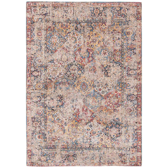 Louis de Poortere Antiquarian Bakhtiara Antique 8713 Khedive Multi Rug