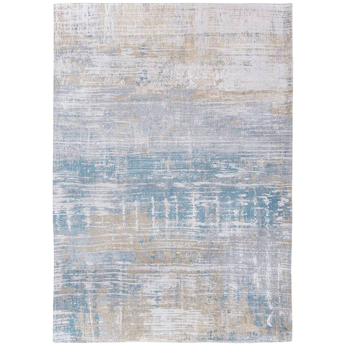 Louis de Poortere Atlantic Streaks 8718 Long Island Blue Rug