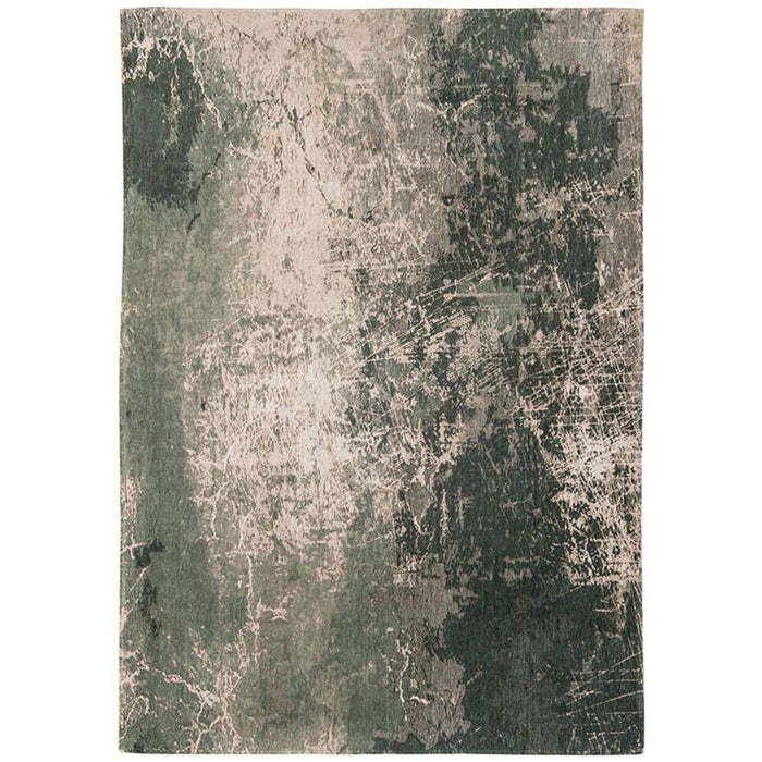 Louis de Poortere Mad Men Cracks 8723 Dark Pine Rug