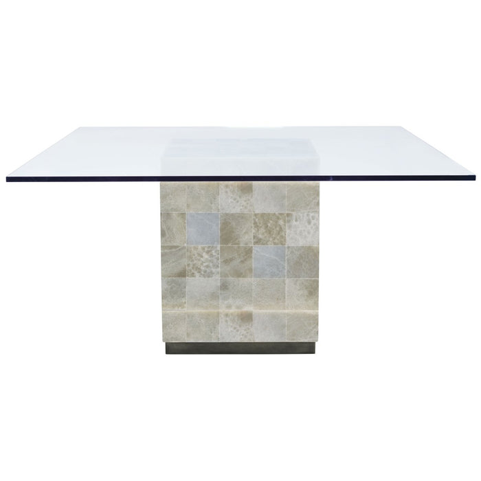 Bernhardt Interiors Trimbelle Square Dining Table