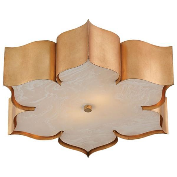 Currey and Company Grand Lotus Flush Mount