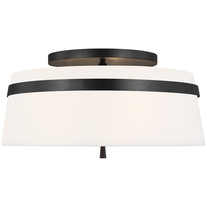 Feiss Cordtlandt 3-Light Large Flush Mount