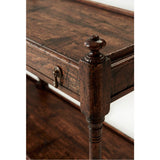 Theodore Alexander Victory Oak Carter Console Table