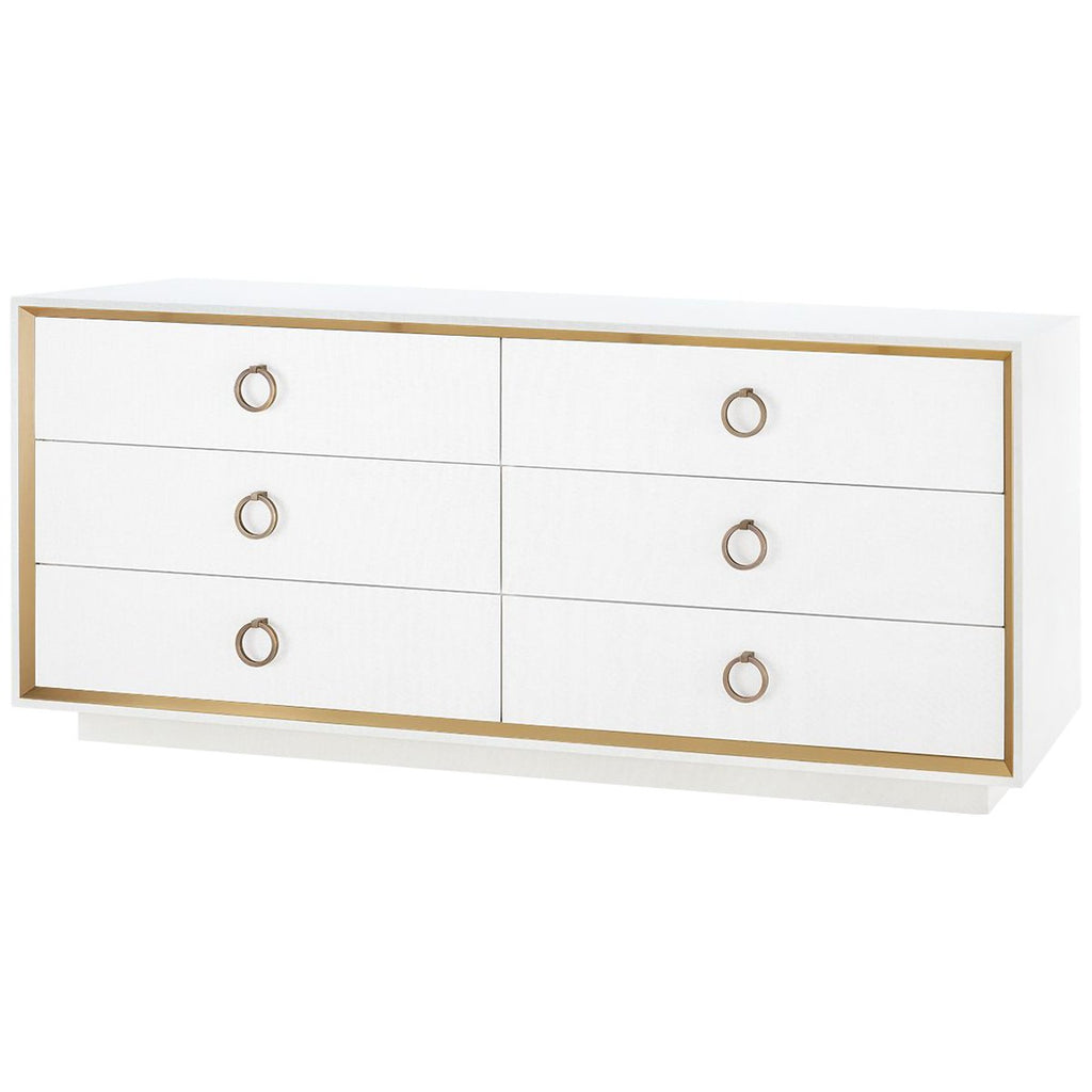 Bungalow 5 Ansel Extra Large 6-Drawer Dresser with Owen Pull