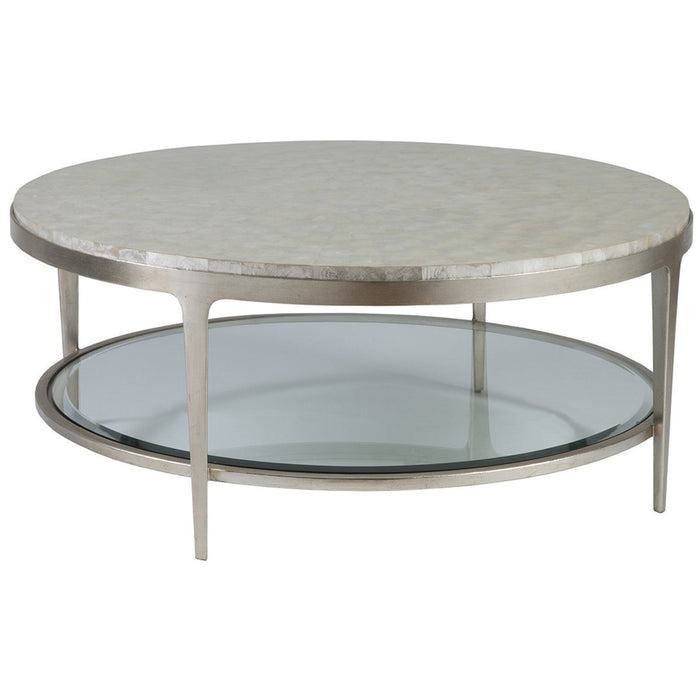 Artistica Home Gravitas Round Cocktail Table 01-2050-943C