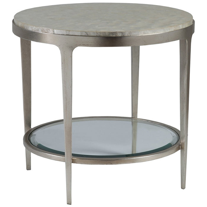 Artistica Home Gravitas Round End Table 01-2050-953C