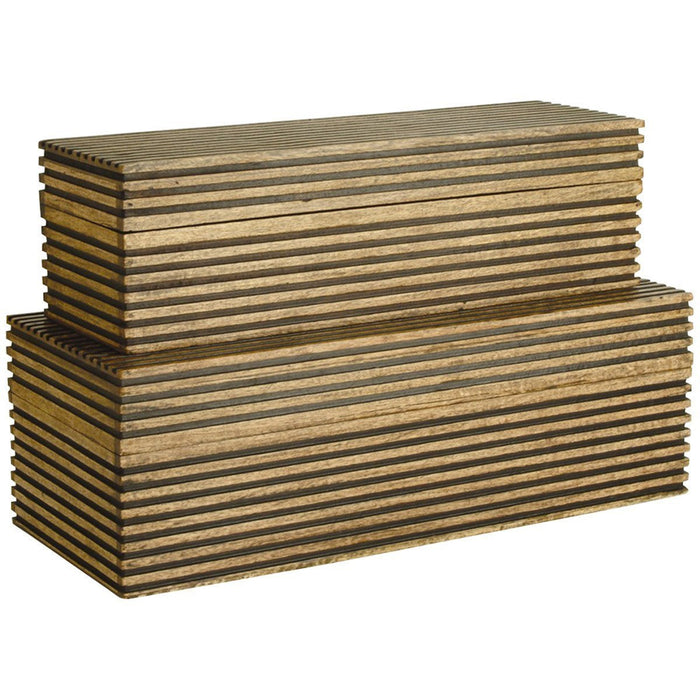 Arteriors Trinity Boxes Set of 2