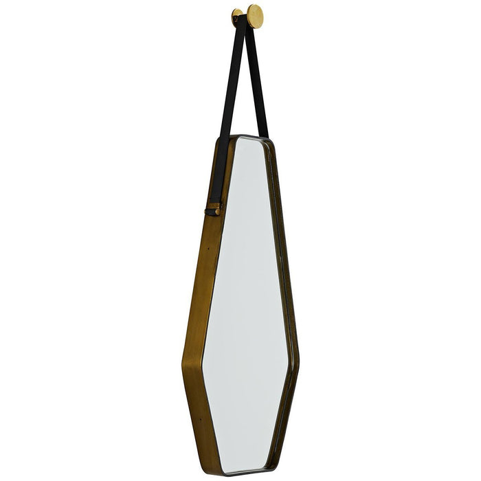 Arteriors Ripley Mirror - Natural Iron, Antique Brass