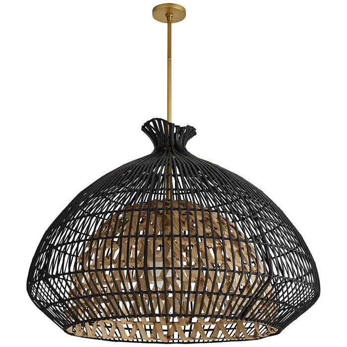 Arteriors Rimini Pendant - Black, Brown