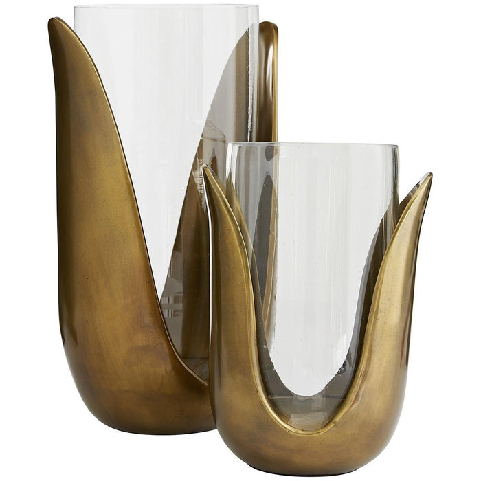 Arteriors Sonia Gold Vases Set of 2