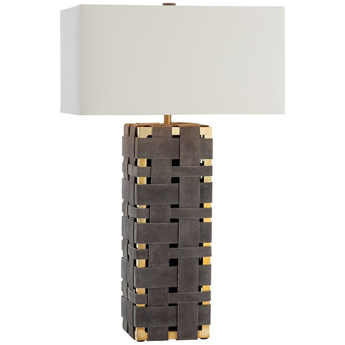 Arteriors Elis Table Lamp - Gray