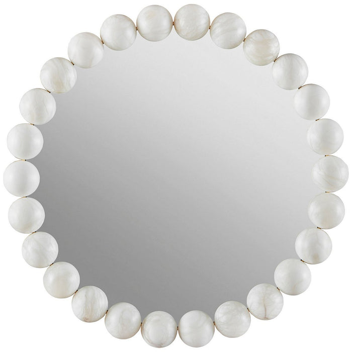 Baker Furniture Pearl Mirror BAA3212
