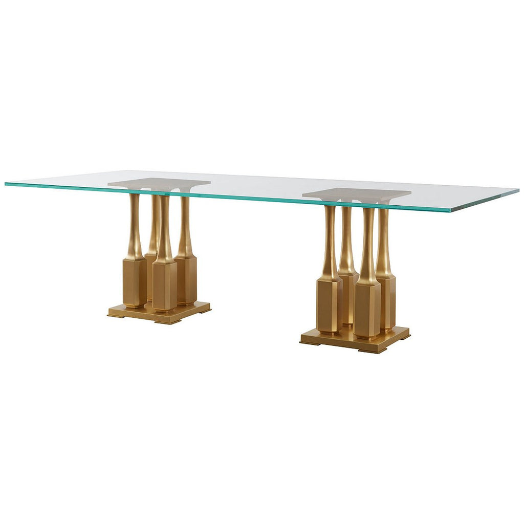 Baker Furniture Villa Rectangle Dining Table BAA3237