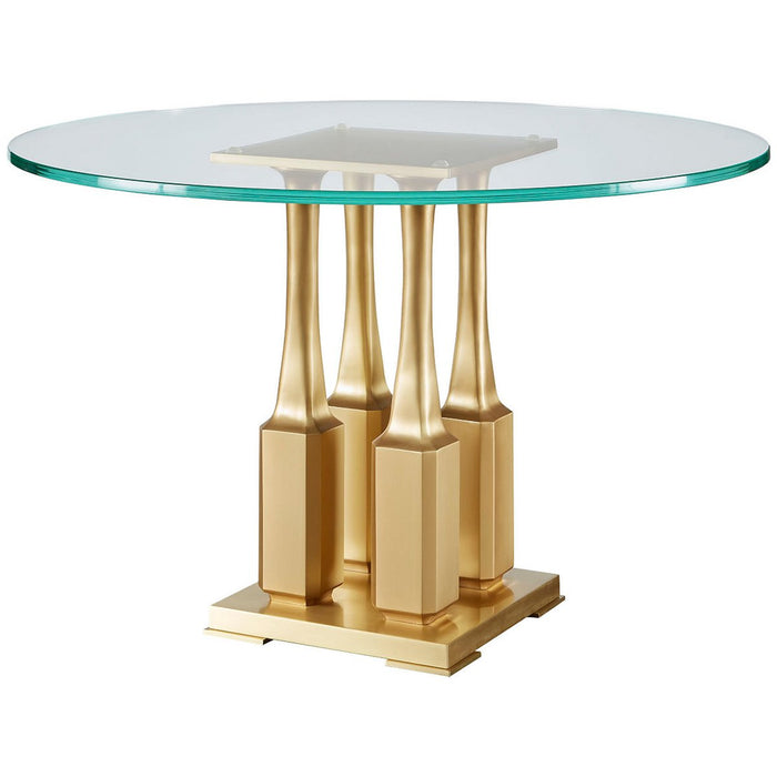 Baker Furniture Villa Round Dining Table BAA3237