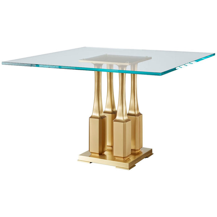 Baker Furniture Villa Square Dining Table BAA3237