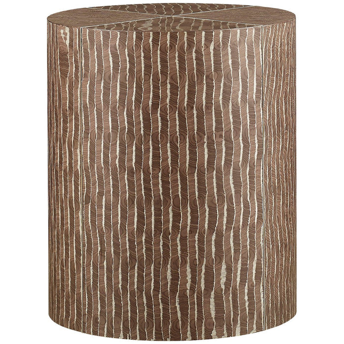 Baker Furniture Cylindrical Side Table BAA3259