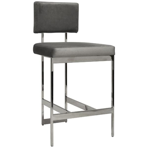 Worlds Away Modern Counter Stool