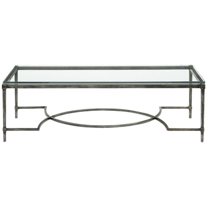 Bernhardt Interiors Palmer Metal Cocktail Table