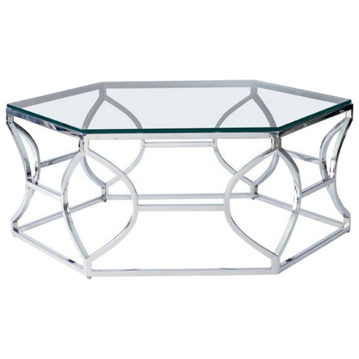 Bernhardt Interiors Argent Metal Cocktail Table 326-021